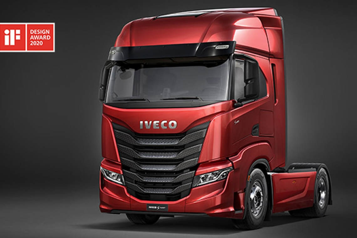 IVECO zdobywa prestiżową nagrodę iF DESIGN AWARD 2020 za model IVECO S-Way